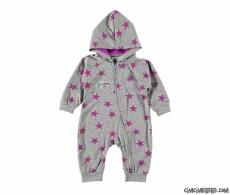 Star Kapşonlu Bebek Tulum