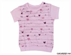 Kalpli Kız Bebek T-Shirt