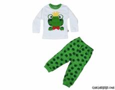 Kurbağa Erkek Çocuk Pijama Takımı