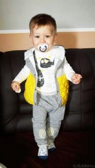 Şişme Yelekli 3'lü Bebek Takım