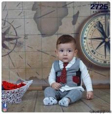 Kravatlı İş Adamı Bebek Takım