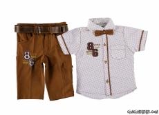 Erkek Çocuk Pantolon Gömlek Şık Takım