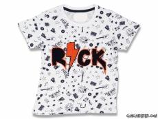 Rock Erkek Çocuk Kısa Kollu T-Shirt
