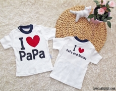 I Love Papa And Mama Bebek Badi