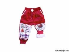 İçi Welsoft Kız Çocuk Kar Pantolonu