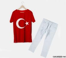 23 Nisana Özel Pantolon T-Shirt Takım