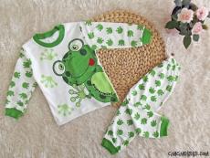 Minik Kurbağa Pijama Takımı