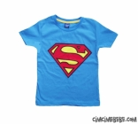 Süper Güç Penye Kısa Kollu Tshirt