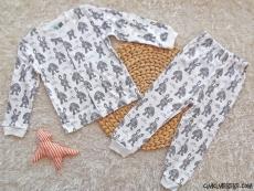 Tavşancık Kız Çocuk Pijama Takımı
