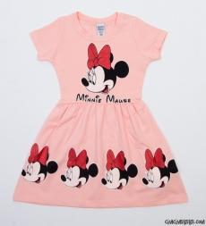 Minik Fare Kız Çocuk Elbise