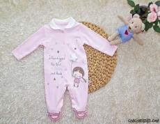 Yıldızlı Soft Bebek Tulum