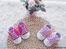Yıldızlı Bebek Convers Ayakkabı