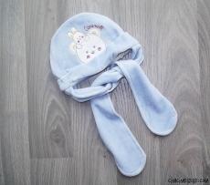 Kadife Kışlık Bebek Şapka