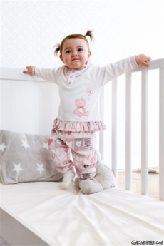 Kız Bebek Pijama Takım