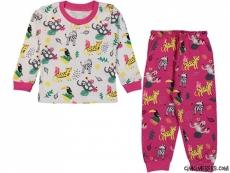 Hayvanlar Alemi Pijama Takımı