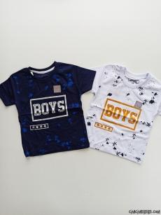 Boys Baskılı Erkek Çocuk T-Shirt