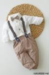 Papyonlu Erkek Bebek Takım