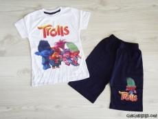 Trolls Şortlu Erkek Çocuk Takım