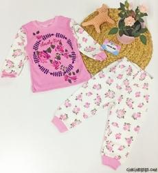 Lovely Rose Kız Çocuk Pijama Takımı