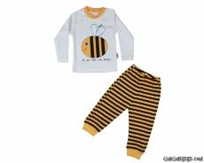 Arılı Çocuk Pijama Takımı