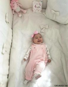 Kız Bebek Soft Slopet Tulum