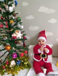 Noel Baba 4'lü Bebek Takım