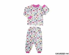 Little Dog Kız Çocuk Pijama Takımı