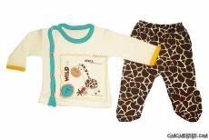 Safari Bebe İkili Zıbın