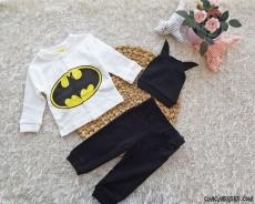 Minik Kahraman 3'lü Bebek Takım