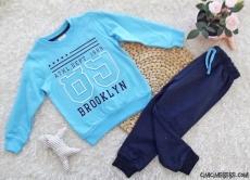 Brooklyn Erkek Çocuk Penye Eşofman Takımı