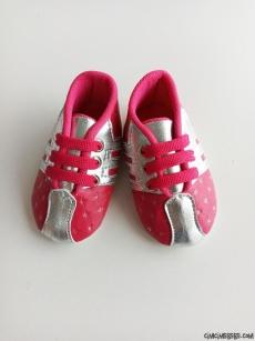 Yıldızlı Kız Bebek Ayakkabı