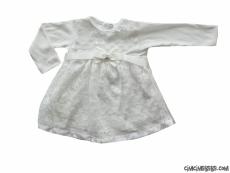 Dantelli Mevlütlük Bebek Elbise