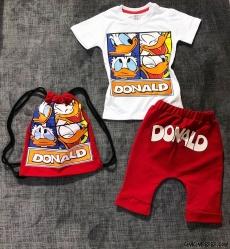 Donald Erkek Çocuk Çantalı Takım