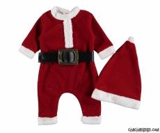 Noel Baba Kemerli Bebek Tulum