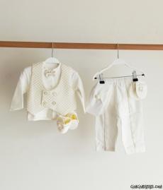 Yelekli Erkek Bebek Mevlütlük Takım