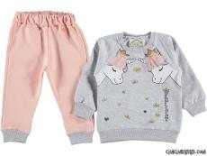 Unicorn Kız Bebek Takım