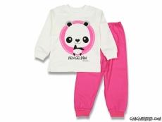 Ben Geldim Panda Pijama Takımı