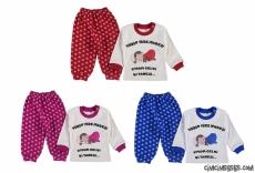 Uykum Geldi Bitanesi Bebek Pijama Takımı