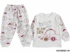 Beep Beep Erkek Çocuk Pijama Takımı