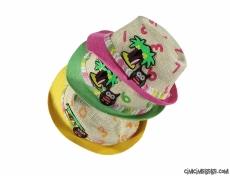 Renkli Çocuk Hasır Şapka