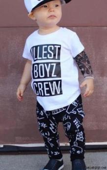 Boyz Crew Şapkalı 3'lü Takım