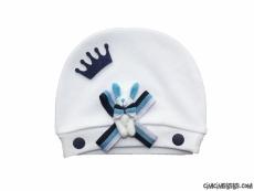 Yenidoğan Taçlı Şık Bebek Şapka