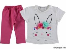 Sevimli Tavşan Kız Çocuk Takım