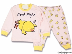 Good Night Kız Bebek Pijama Takımı
