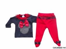 Mikili Kız Bebek Takım