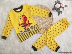 Arılı Erkek Çocuk Pijama Takımı