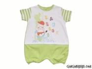 Bebek Figürlü Kısa Tulum
