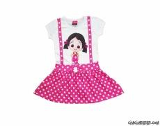 Minik Kız Penye Elbise