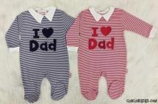 I Love Dad Bebek Tulum