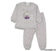 Ay Prensesi Kız Çocuk Pijama Takımı